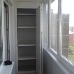 Установка окон, отделка и остекление балконов  (Из ПВХ и АL)